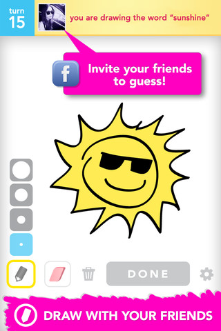 Draw Something sunshine
