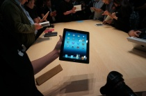 New iPad demo