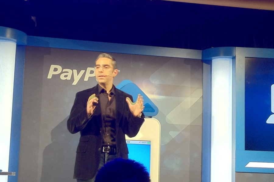 Paypal's VP of mobile, David Marcus