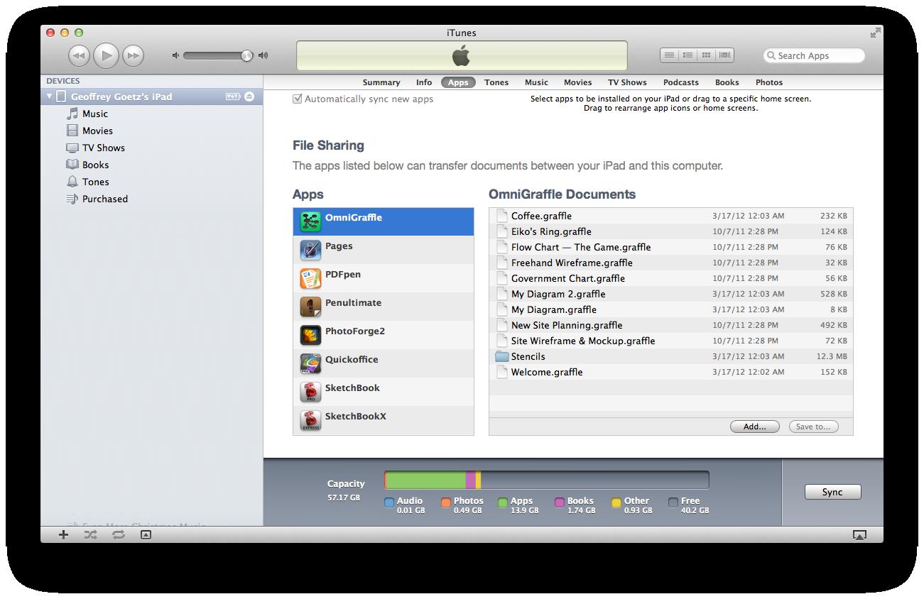Save iTunes Docs