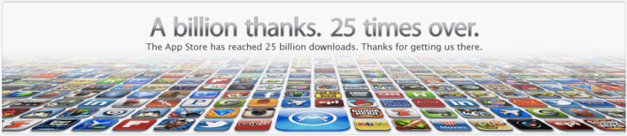25 billion App download