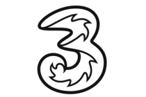 3 Three carrier logo