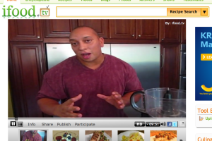 iFood TV screen shot