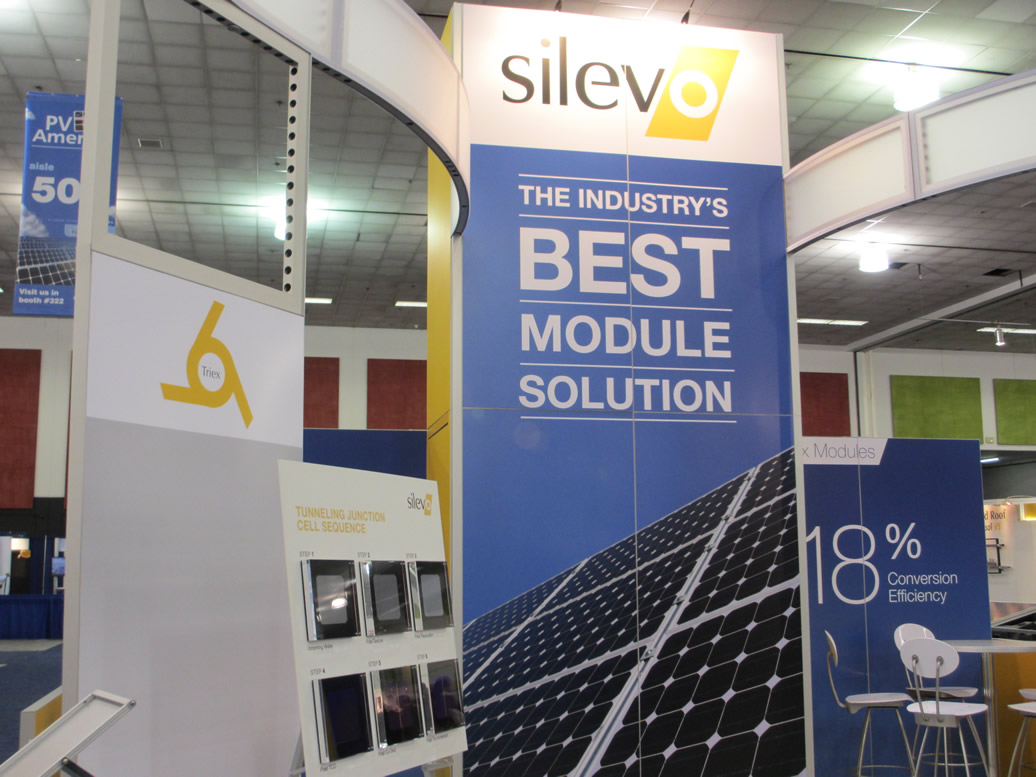 Silevo, which is entering mass production soon, says its solar panels can deliver a high efficiency of 18 percent.
