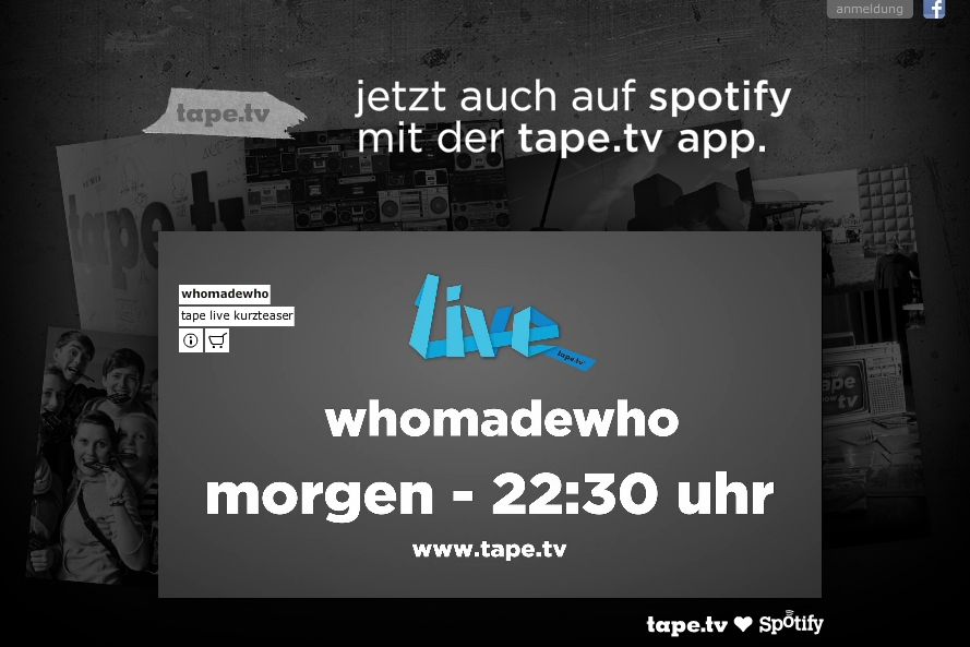 Tape.tv Spotify ad