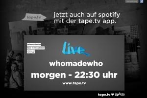 Tape.tv Spotify ad