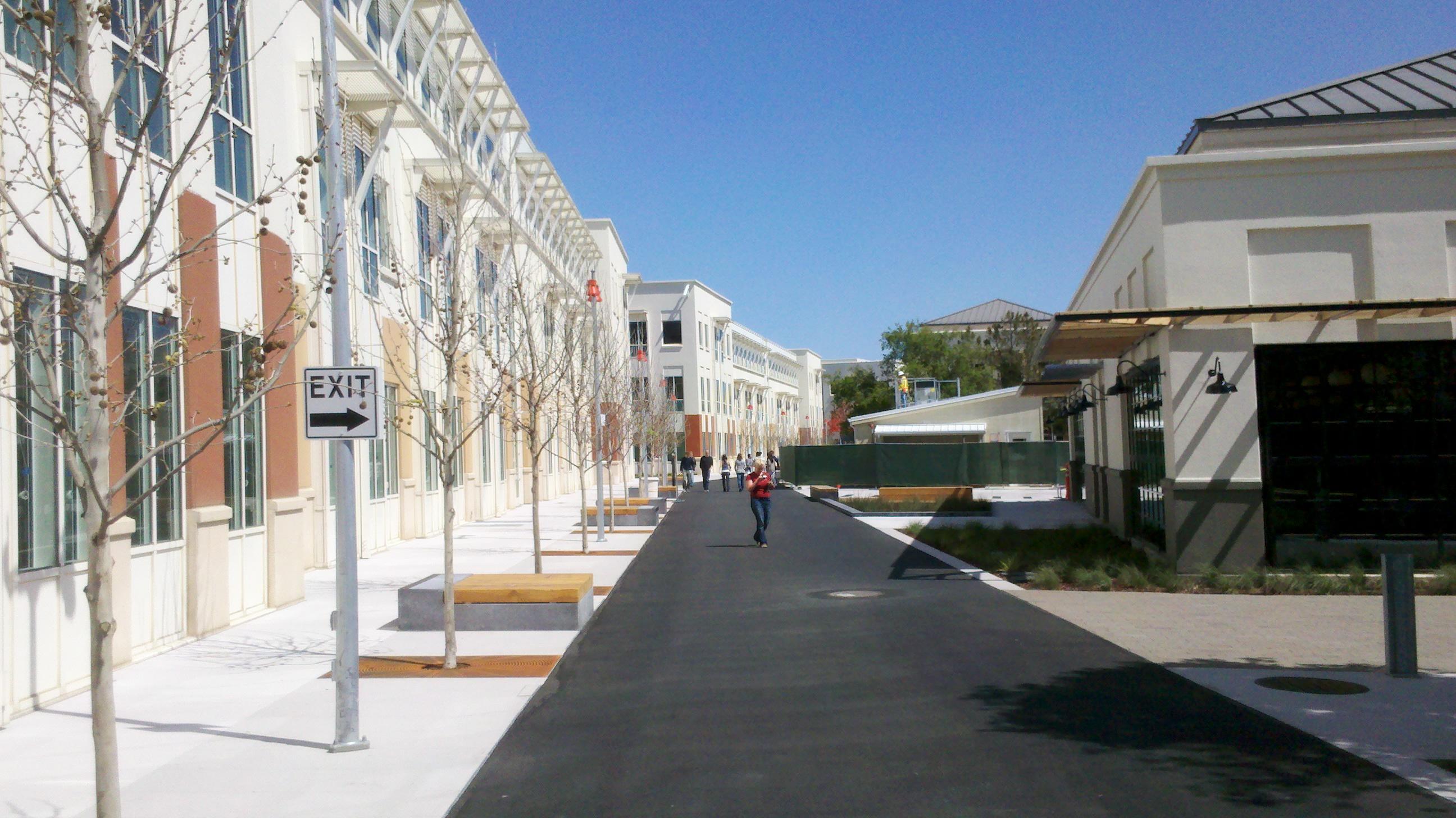 Facebook's Menlo Park HQ