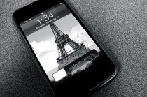 iPhone Paris Eifel Tower