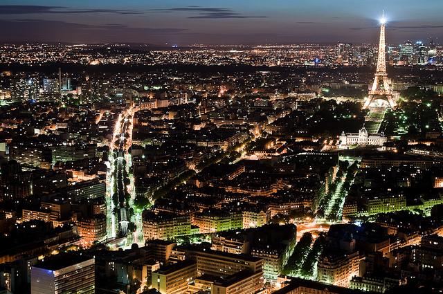 Paris skyline Eifel