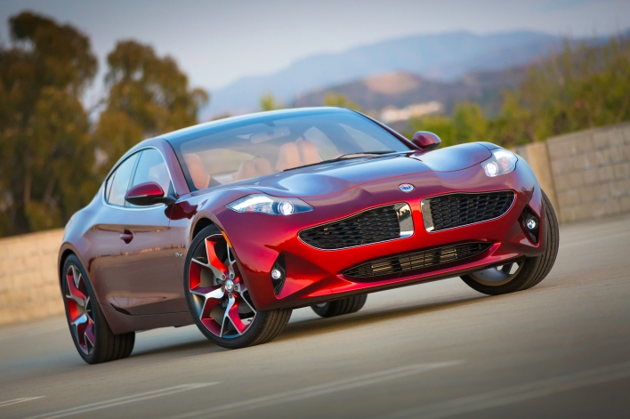 Fisker's Project Nina, later called the Atlantic, which was never manufactured.