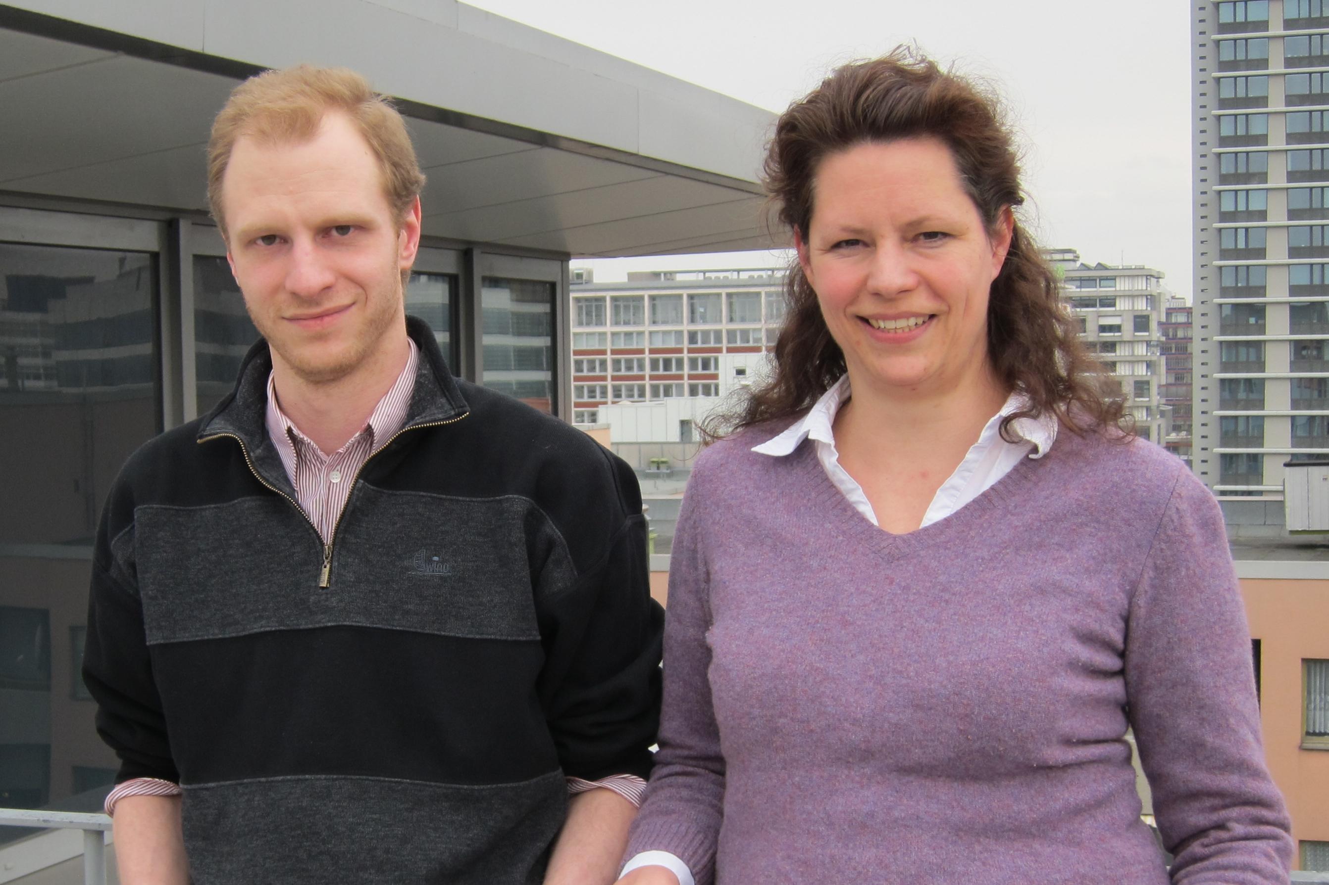 Jonathan and Susanna Gebauer