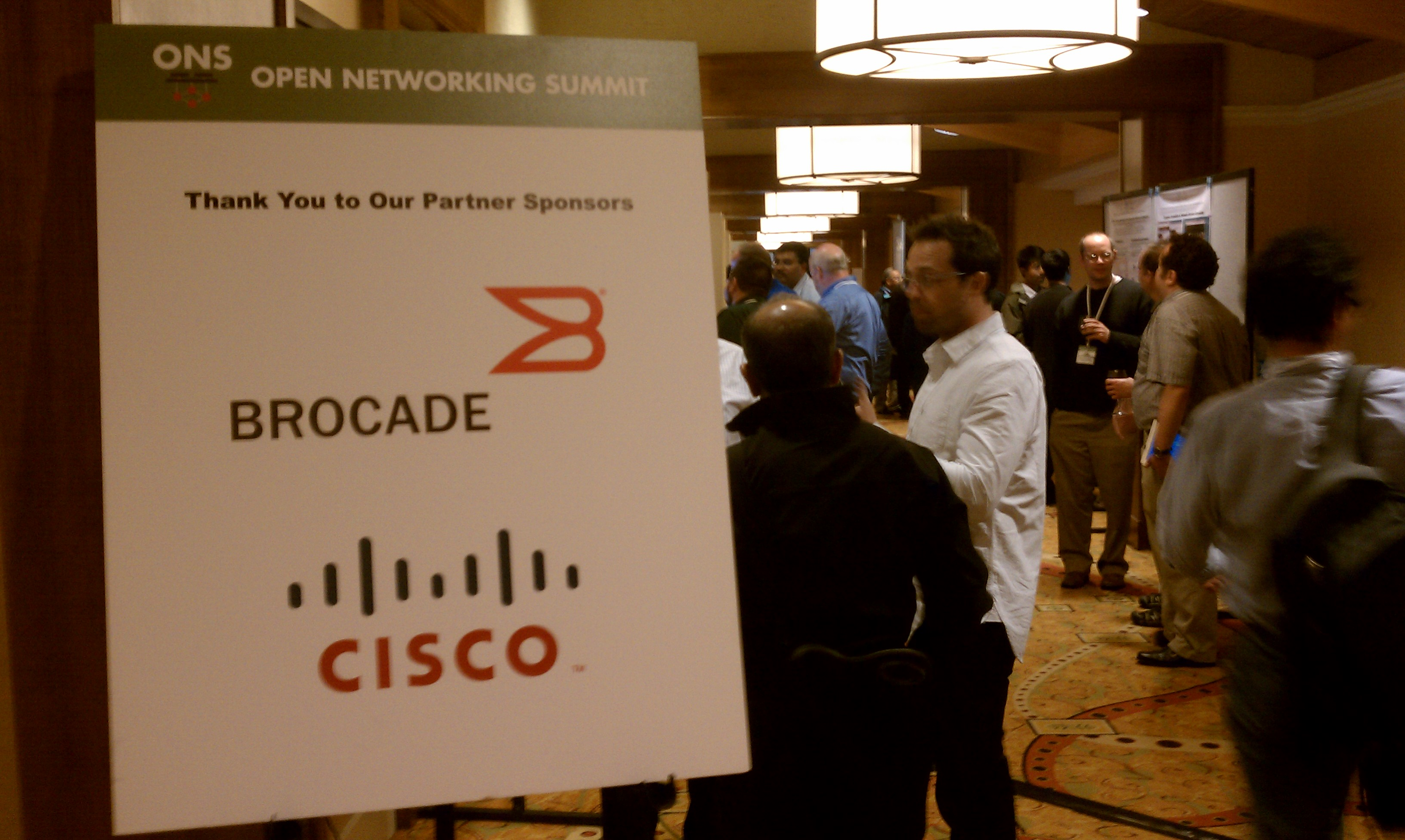 Verizon is one of many companies at the Open Networking Summit.