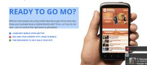 Google Go Mo