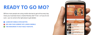 Google Go Mo feature
