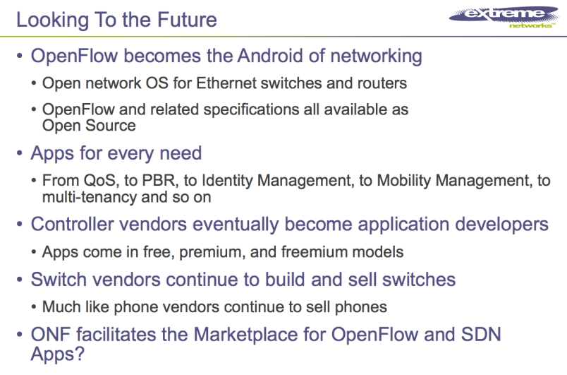 Extreme Networks Open Networking Summit