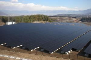 Solar Frontier 10 MW Komekurayama