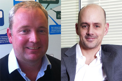 Stephen Chandler, Jos White of Notion Capital