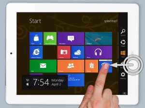 Swipe R for Charms Win8_Screenshot