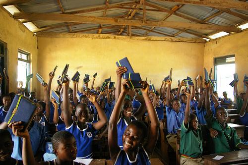 worldreader ghana classroom