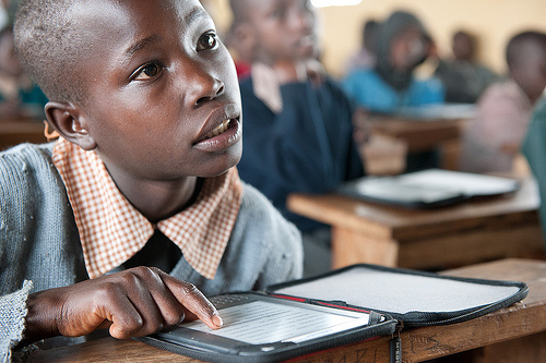 Worldreader Kenya student 1