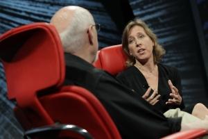 Google Susan Wojcicki D10