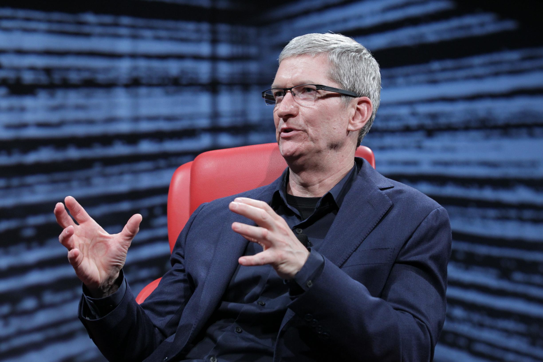 Apple CEO Tim Cook D10