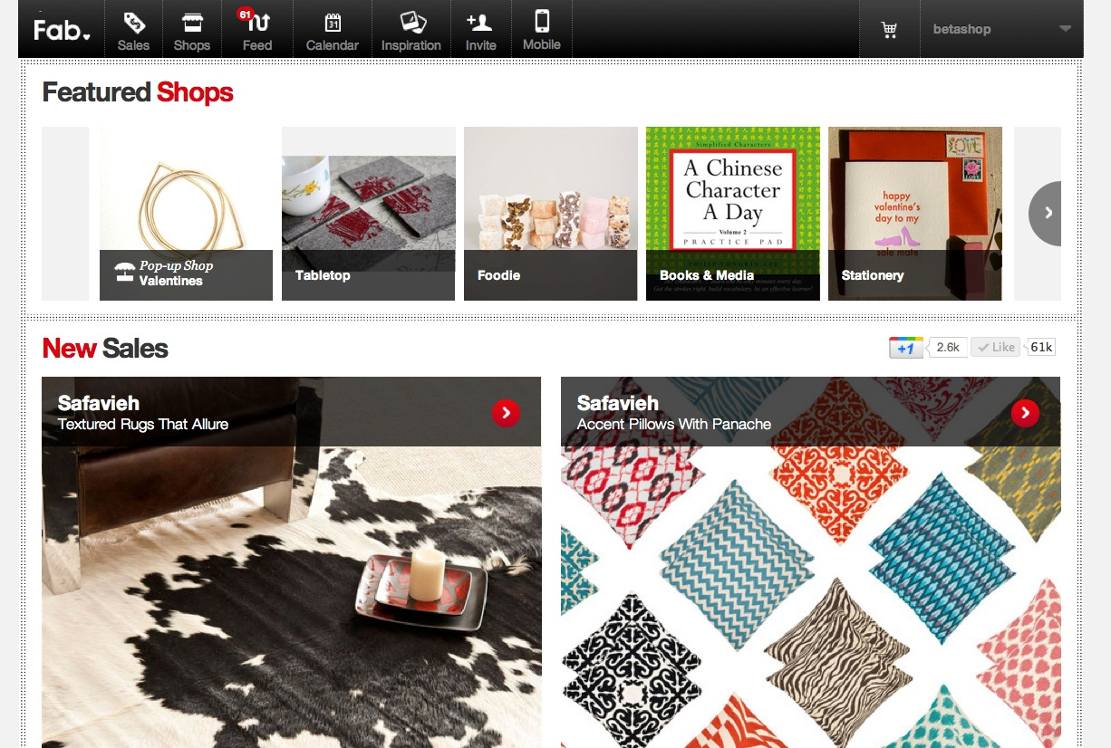 Fab Featured Shops