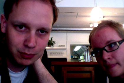Flattr's Peter Sunde and Linus Olssen