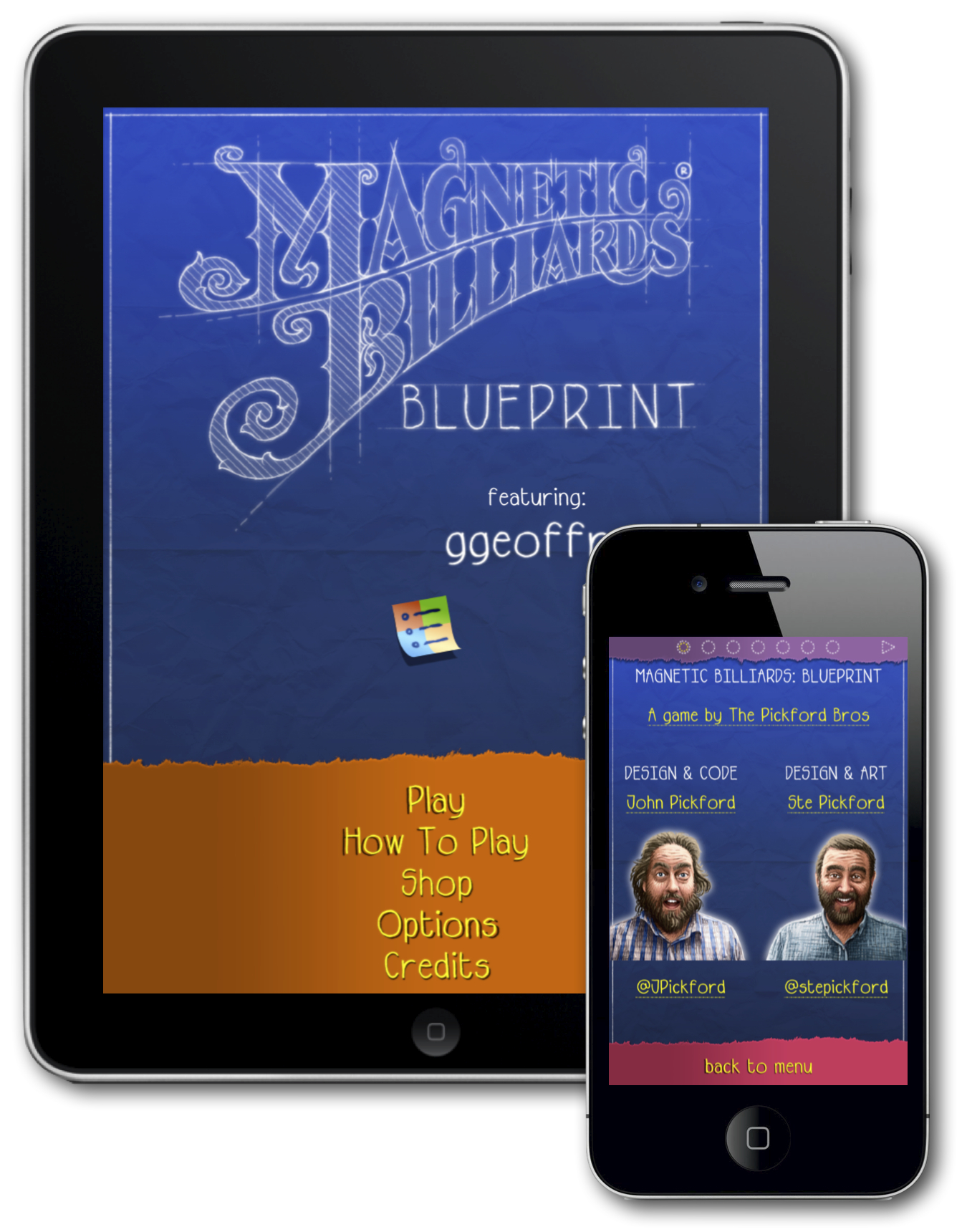 Magnetic Billiards Blueprint