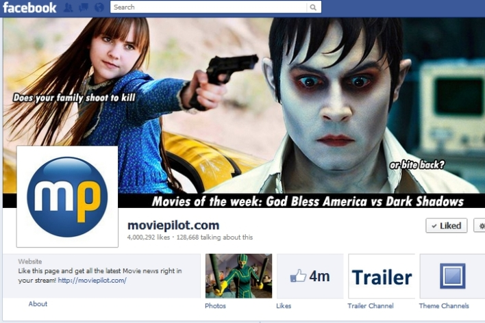 Moviepilot.com Facebook page