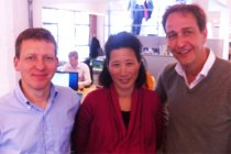 Robert Dighero, Eileen Burbidge, Stefan Glaenzer of Passion Capital