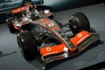 Vodafone racecar