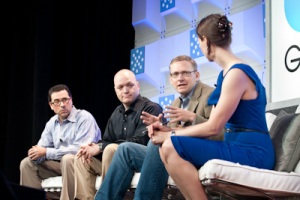 Andrew Feldman of AMD, Barry Evans of Calexda, and Guido Appenzeller of Big Switch Networks Structure 2012