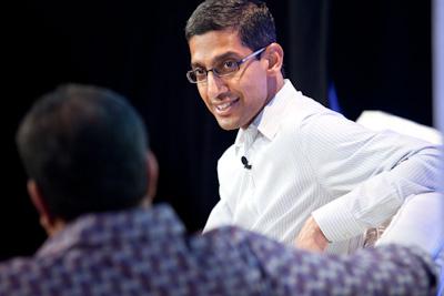 Sundar Pichai, SVP Chrome and Apps, Google (c)2012 Pinar Ozger pinar@pinarozger.com