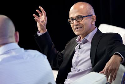 Satya Nadella Microsoft Structure 2012