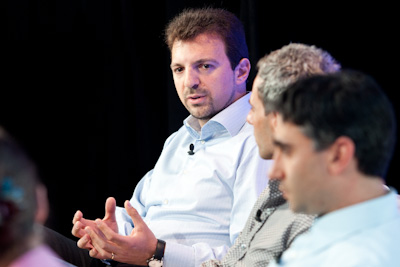 Dante Malagrino, Co-Founder and CEO, Embrane; Jonathan Heiliger, General Partner, North Bridge Venture Partners; Martin Casado, Co-Founder and CTO, Niciria (c)2012 Pinar Ozger pinar@pinarozger.com