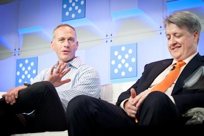 (L to R) Dave Rosenberg, CEO, Nodeable; Jason Hoffman, Founder and CTO, Joyent (c)2012 Pinar Ozger pinar@pinarozger.com