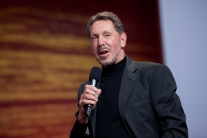 Oracle CEO Larry Ellison.