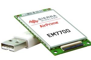 Sierra ultra thin LTE module