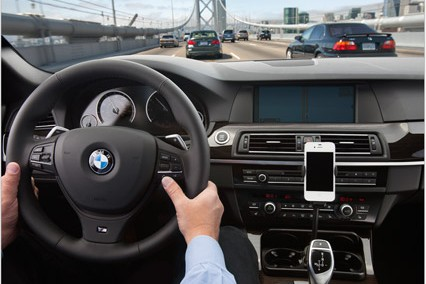Apple's Eyes Free in a BMW