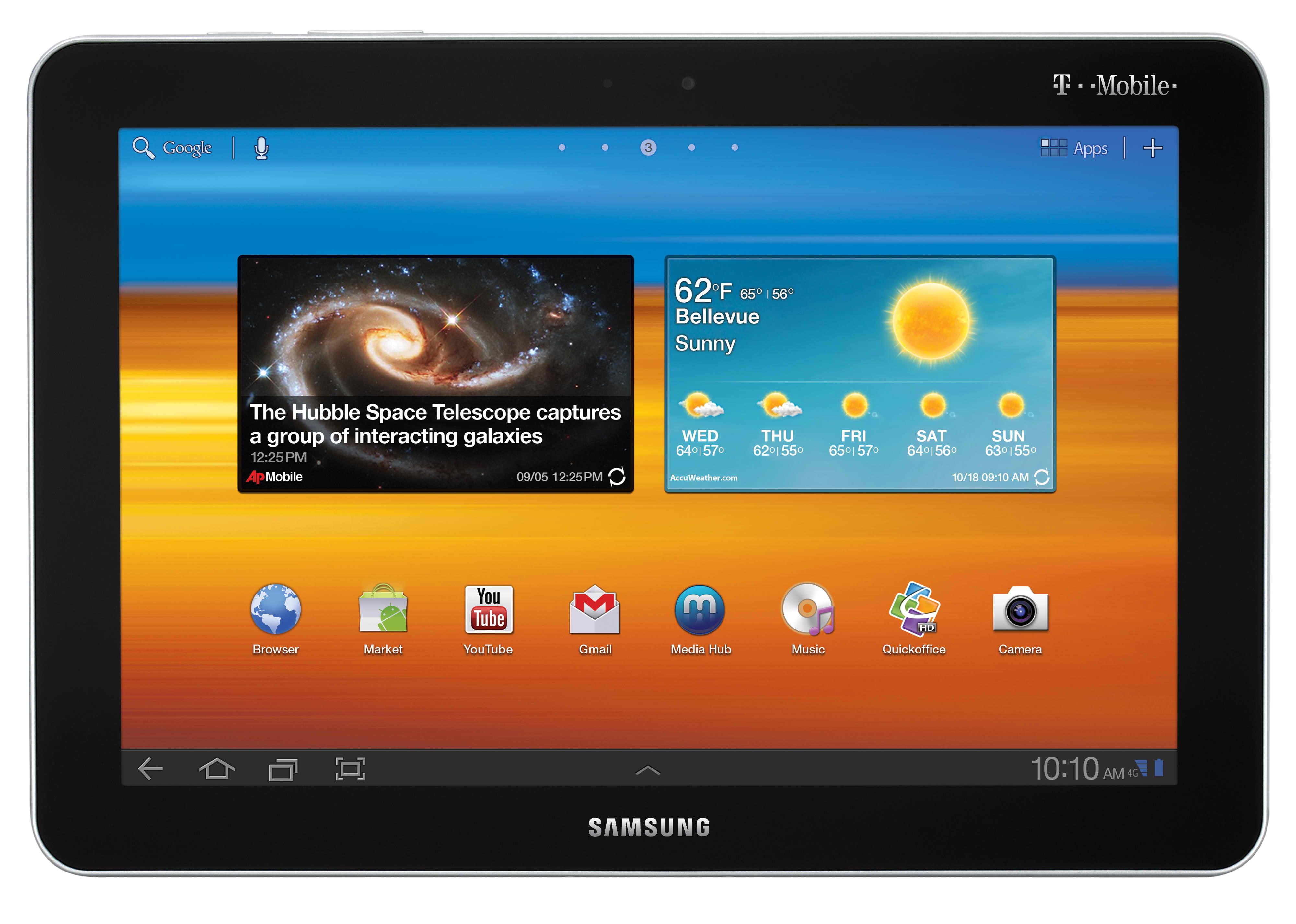 T-Mobile Galaxy Tab 10.1
