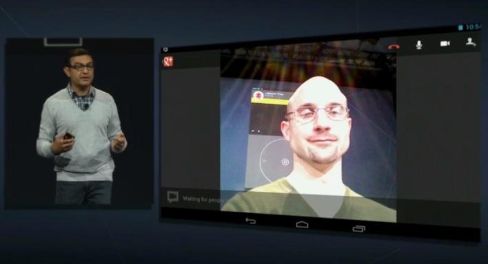 io keynote googleplus tablet app hangout
