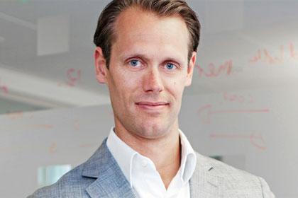 Jacob de Geer, CEO of iZettle