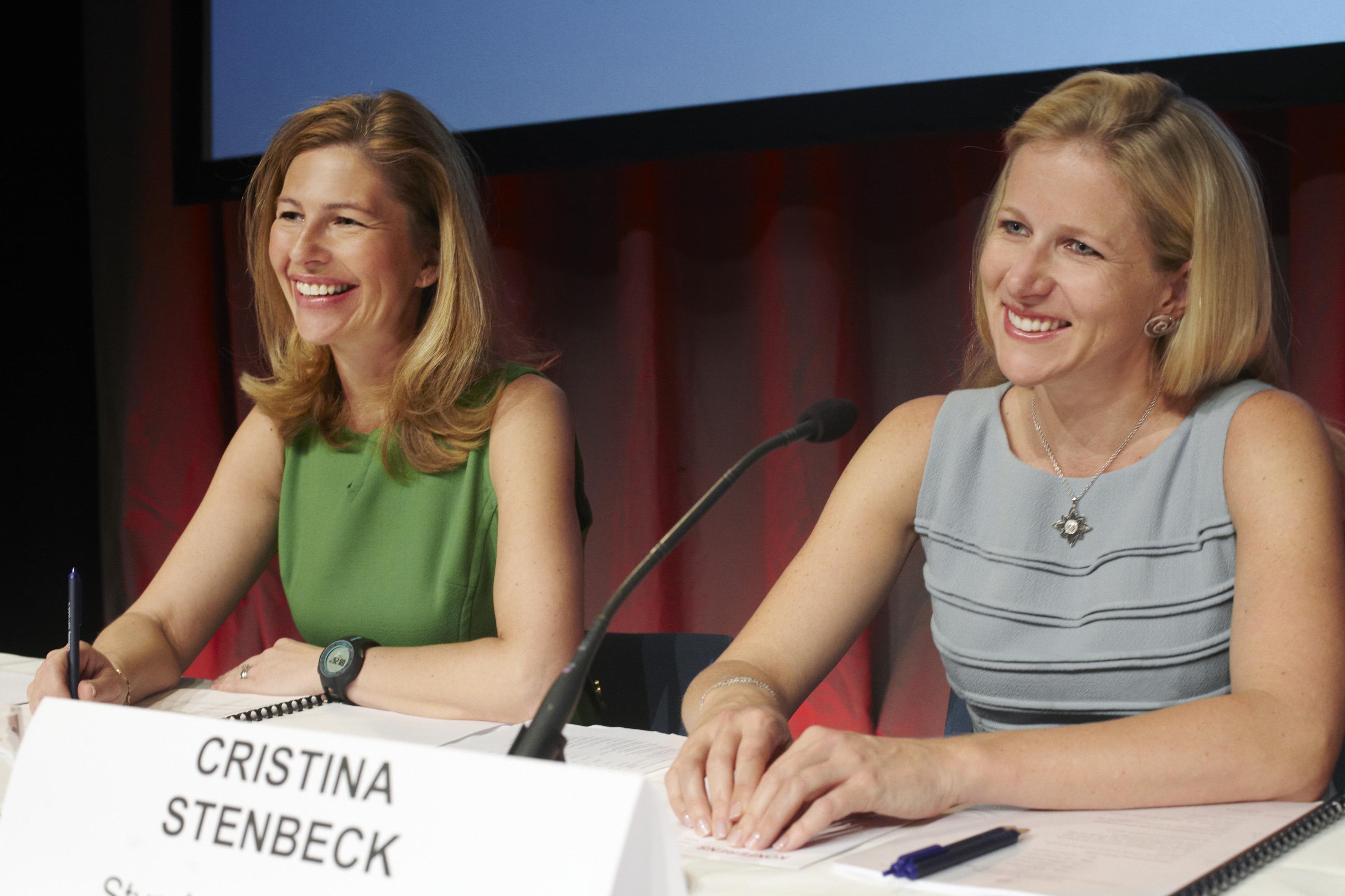 Kinnevik CEO Mia Brunell Livfors & chairman Cristina Stenbeck