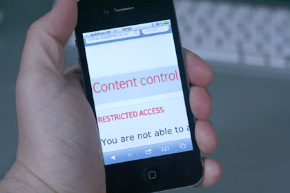 Britain's de facto web censors: mobile filters