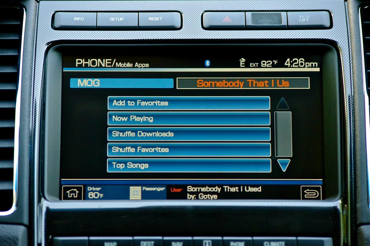 MOG Ford dashboard