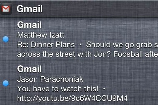 Notification-gmail-ios