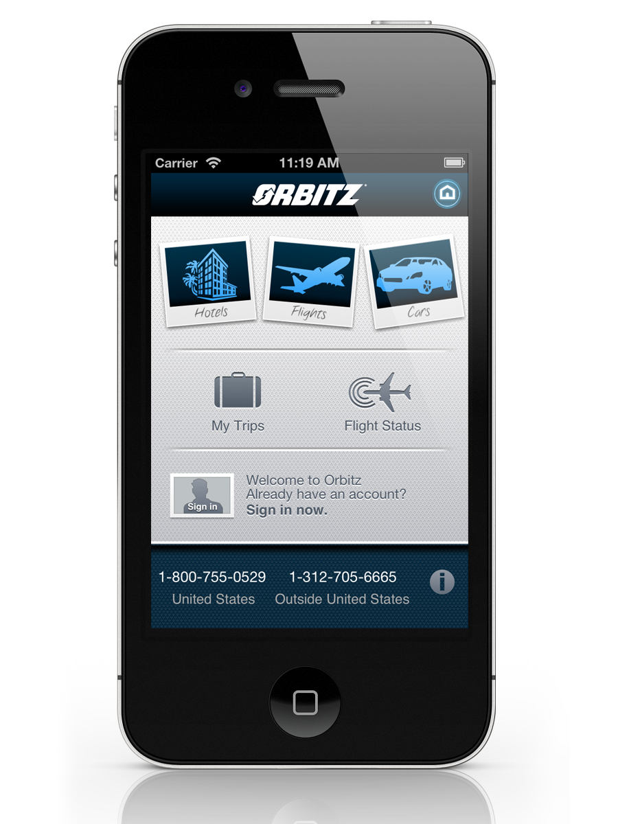 Orbitz Launches New Iphone App Bets On Mobile Growth
