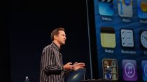 SVP of iOS Software Scott Forstall at WWDC on Monday.