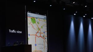 Apple's new Maps app demonstrated at WWDC 2012.